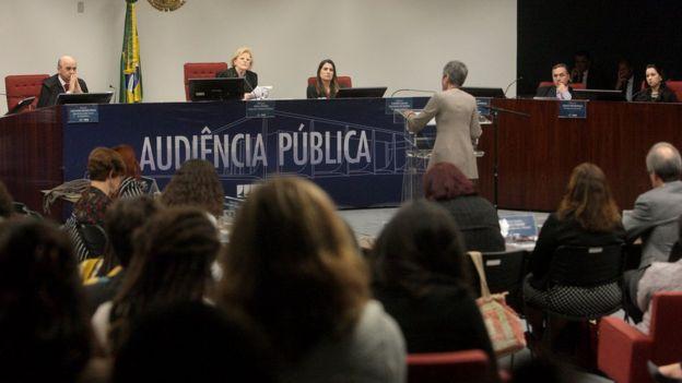 audiência pública aborto